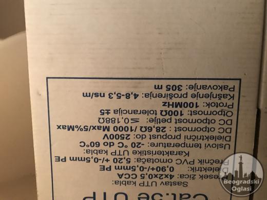 UTP kabalRJ45 osmopinski