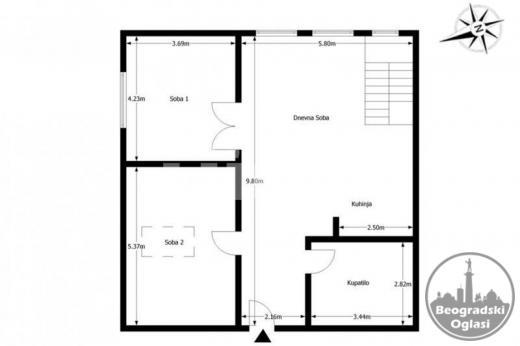 Duplex u elitnom delu Dedinja sa garažom ID#94294