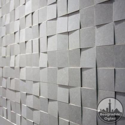 gumeni kalupi za 3D panele i fasadni kamen