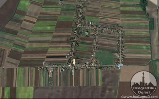Indjija (Ljukovo) kuca,plac i zemlja na prodaju