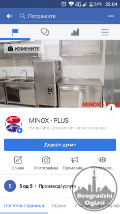 Inox oprema