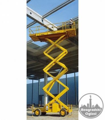 Najam korpa dizalica platforma za rad na visini cena