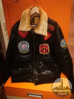 Aviatrix kožna jakna
