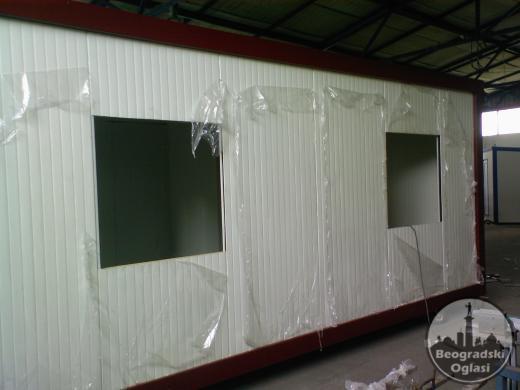 Argus EKONOMIK, kontejneri sa krovom od sendvič panela