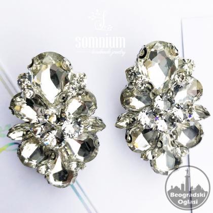 Elegantne mindjuse sa Swarovski kristalima