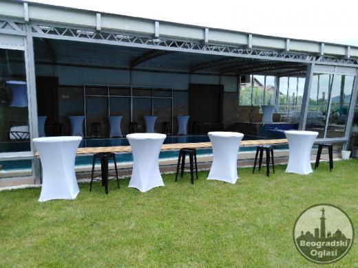 Iznajmljivanje barskih stolova i stolica - DND event
