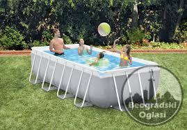 Veliki izbor INTEX Prism Frame bazena. Spremite se za leto!