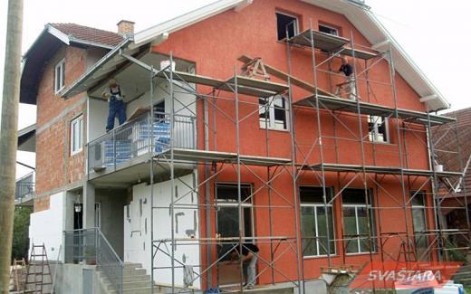 Fasaderski i gipsarski radovi