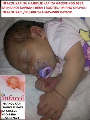 infakol kapi za grceve kod beba