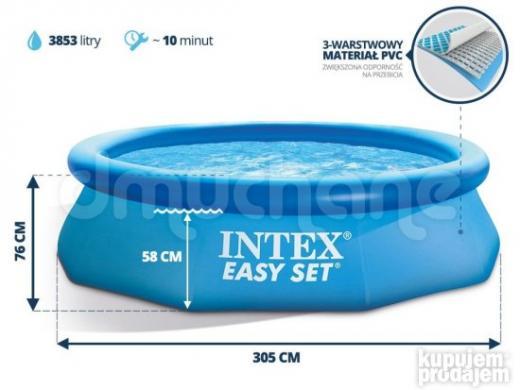 INTEX Easy Set - 305 x 76 cm