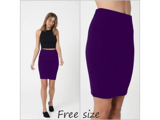 Nova ljubicasta suknja sa elastinom samo 299 din