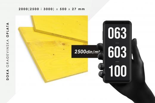 Doka - oplatno rešenje za sve oblasti gradnje