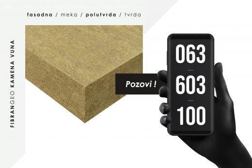 Kamena vuna (fasadna, podna, meka, polutvrda i tvrda)