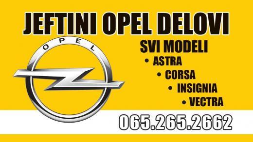 Zadnja klesta Opel Astra H
