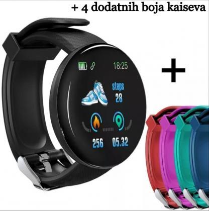 V6 Bluetooth Smart Fitness Sat, Sportski Tracker za Android iOS