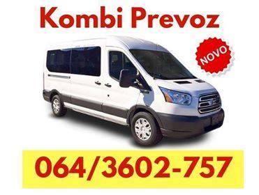 Najjeftiniji kombi prevoz - 064 360 2757 - Nova Pazova