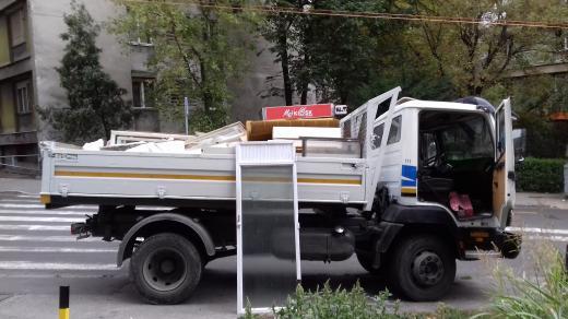 Prevoz gradjevinskog materijala i odvoz suta
