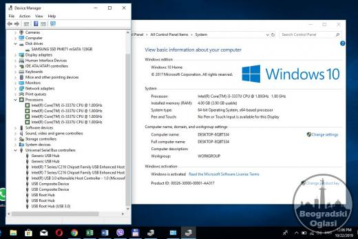 HP Spectre XT,i5,SSD 128GB,4GB,win10