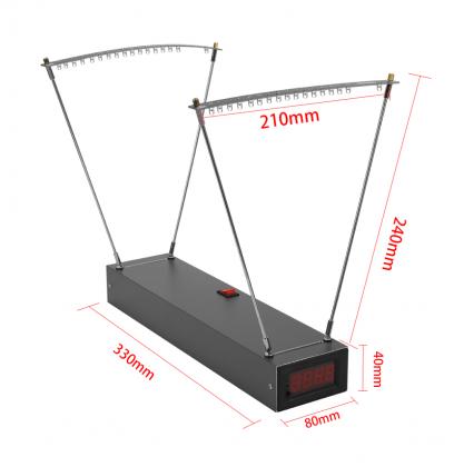 Hronograf za merenje brzine projektila