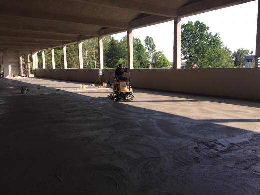Industrijski podovi-izrada fero-betona