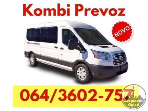 Kombi prevoz Batajnica - 0656399332
