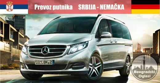 Prevoz putnika iz Srbije za Nemacku i iz Nemacke za Srbiju