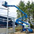 Iznajmjlivanje korpe platforme dizalice rad na visini
