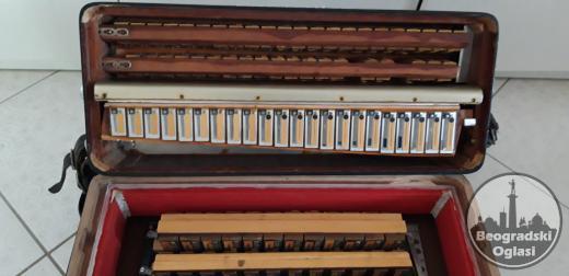 Dallape Supermaestro RR 120 basova 2+2 Mali format!