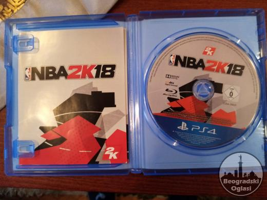 NBA2K18 originalna igrica za PS4!
