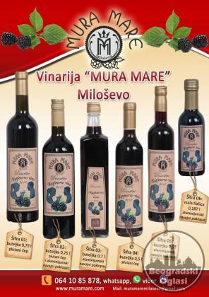 Prirodno kupinovo vino iz istočne Srbije