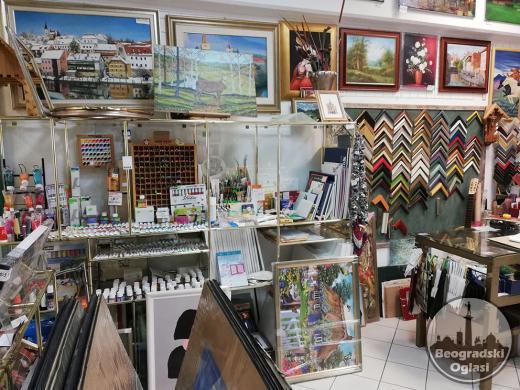 Prodavnicu-galeriju prodajem