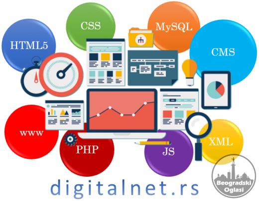 Izrada sajtova - DigitalNet