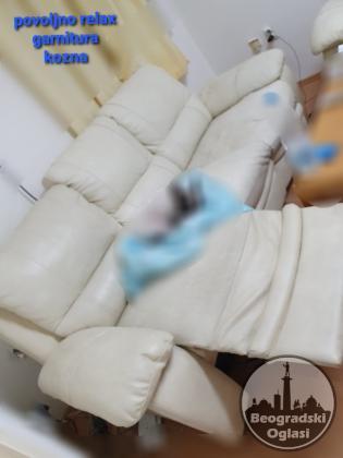 Relax ugaona garnitura koza