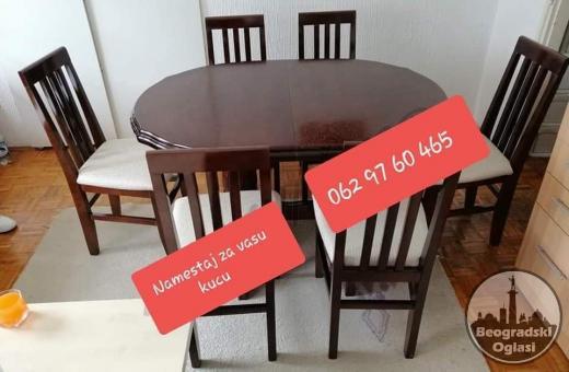 Stolovi i stolice, kompleti