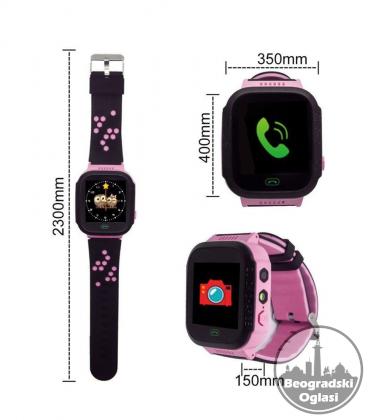 Deciji Smart Watch Q528  GPS GSM Lokator SOS Passometer