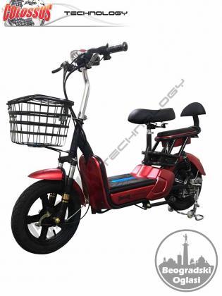 Električni bicikl, Električna bicikla - više modela