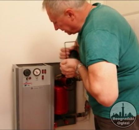 Etazno grejanje na struju, elektricni kotlovi, vodoinstalaterski radovi