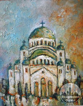Hram sv Save,autor Slobodan Soknic