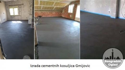 Izrada cementnih kosuljica Gmijovic