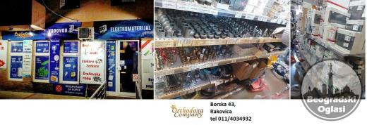 Elektromaterijal i vodovod  ORTHODOXA COMPANY