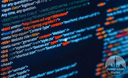 Izrada web sajtova, korisnickih programa i aplikacija