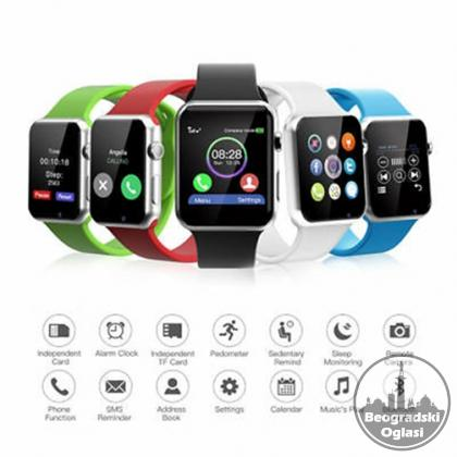 Smart Watch A1 - Pametni Sat -Mobilni Telefon