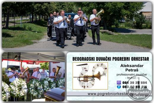 Zvanični pogrebni orkestar trubači bleh muzika za sahrane Srbija