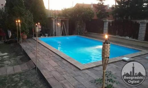 Oblaganje bazena (poliester, stakloplastika)