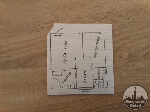 Izdajem namesten stan u zgradi pored hotela