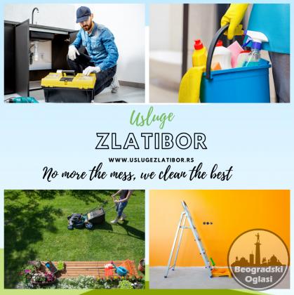 Apartmani Zlatibor non stop akcija čišćenje, održavanje, hausmajstor