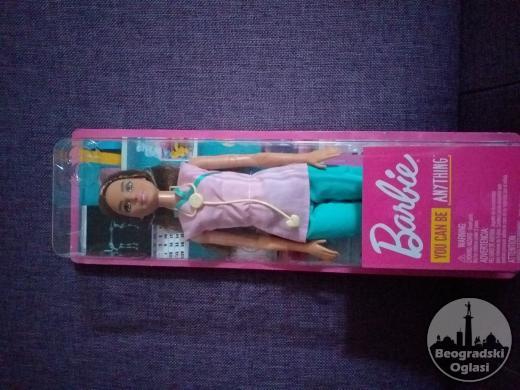 Barbika Medicinska Sestra,Original Barbie-Mattel,Novo,Neotpakovano