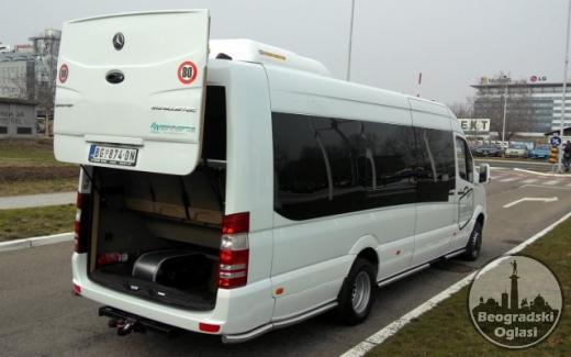 Iznajmljivanje minibusa MERCEDES SPRINTER 519 (20+1)
