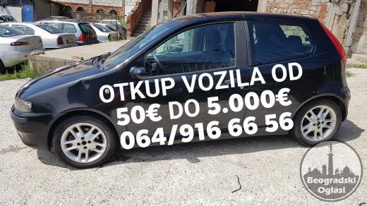 OTKUP VOZILA OD 50€ DO 5.000€