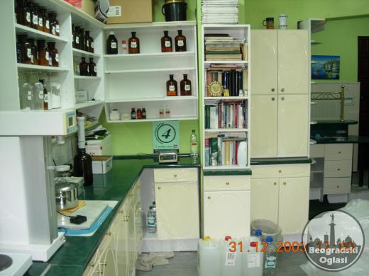 Издајем комплетно опремљену апотеку ,,НАНА,, у Пожеги или продајем комплетан инвентар са лабораторијом